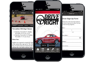 Drive Right mobile app